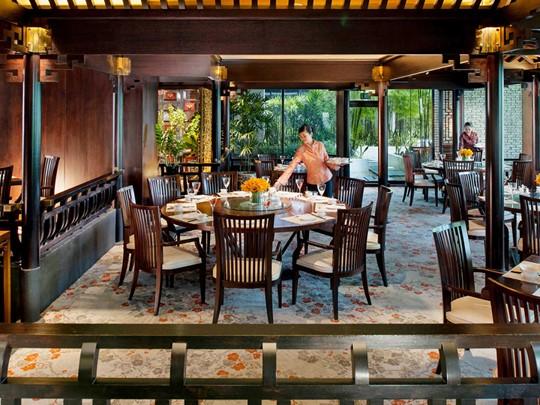 Mandarin Oriental Singapour, Le jardin des cerisiers