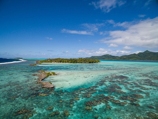 Découvrez l'île paradisiaque de Tahaa en Polynésie.