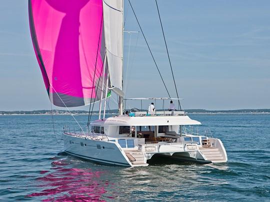 Croisière à bord du catamaran Lagoon 620