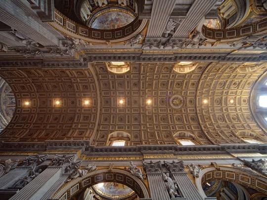La magnifique Basilique Saint Pierre