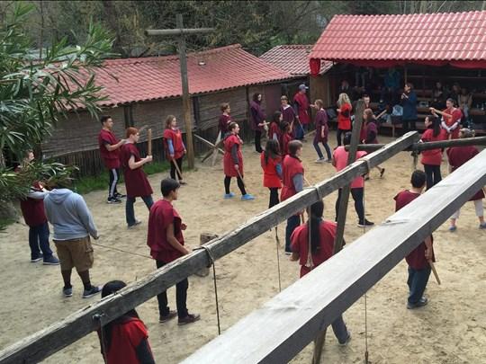 L'école de gladiateurs de Rome