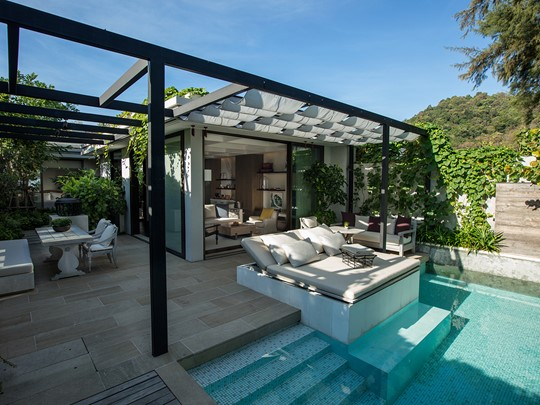 La superbe Beachfront Pool Villa