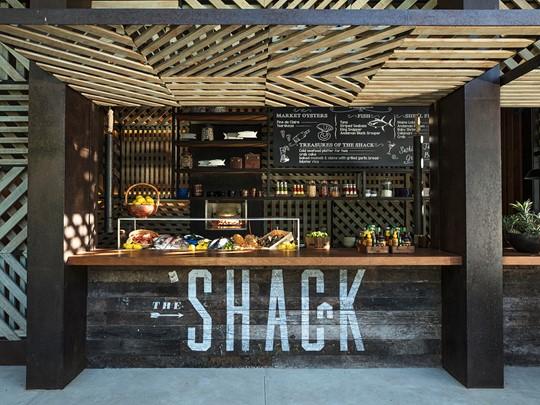 Délicieux fruits de mer au restaurant The Shack