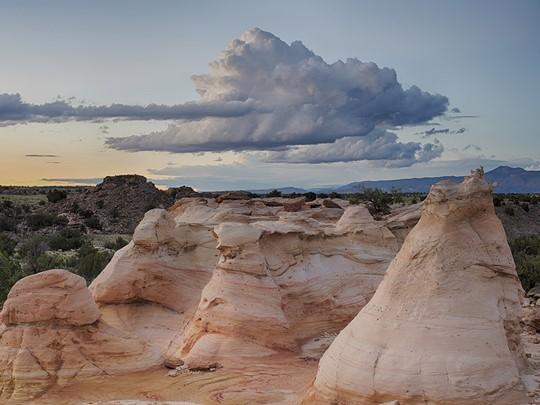 Les paysages sauvages d'Albuquerque
