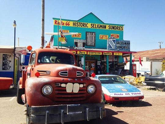 La ville qui inspira les décors des films d'animation Cars