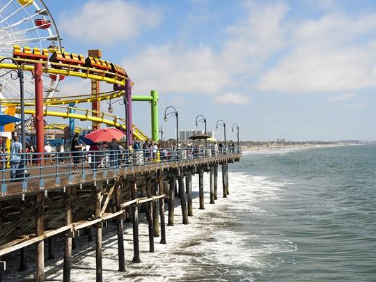Flânez sur la Santa Monica Pier
