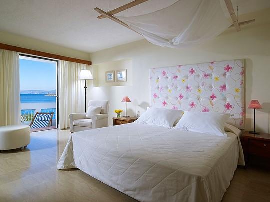 Deluxe Suite 1 BR Sea View du St. Nicolas Bay à Crète