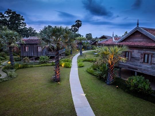 Un hôtel aux allures de village