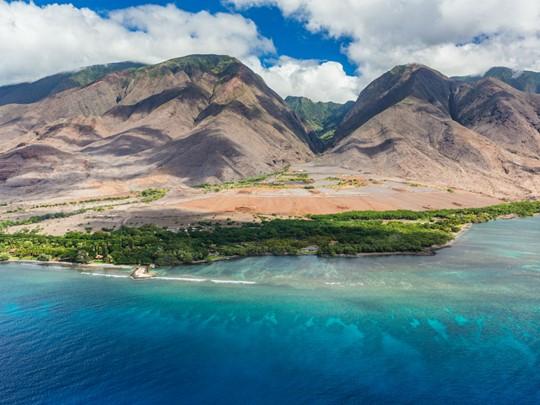La côte ouest de Maui