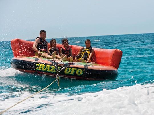 Activité nautiques de l'hôtel Sani Beach à Halkidiki
