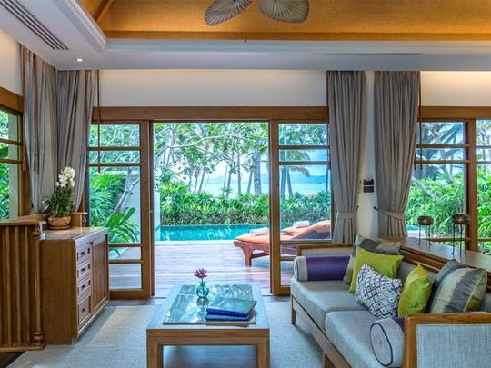 Two Bedroom Grand Deluxe Beachfront Villa