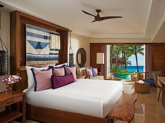 Junior Suite Swim Out Tropical View du Secrets Cap Cana