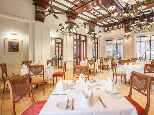 Restaurant Belle Epoque du Settha Palace à Vientiane