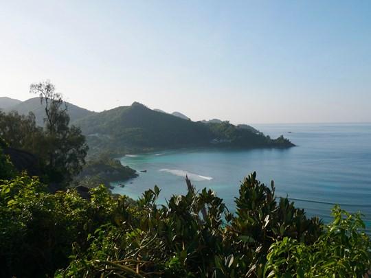 Le relief des Seychelles