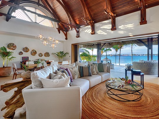 Shangri-La Three Bedroom Beach Villa