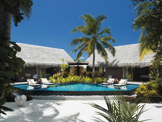 Two Bedroom Family Beach Villa with Private Pool