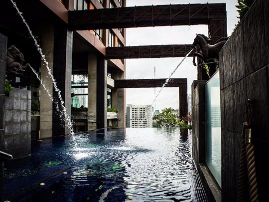La superbe piscine du Siam@Siam Design Hotel & Spa