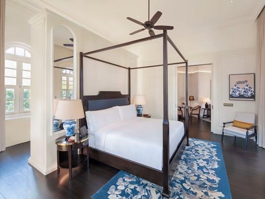 Des chambres délicates et raffinées
