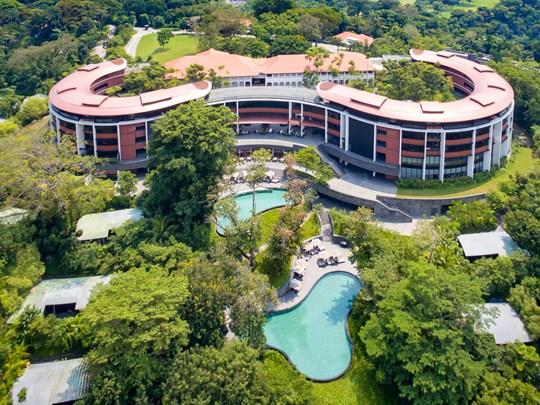 Pour cette deuxième étape, séjournez au Capella Singapour