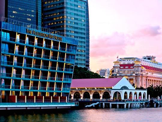 Des vues imprenables sur la Marina de Singapour