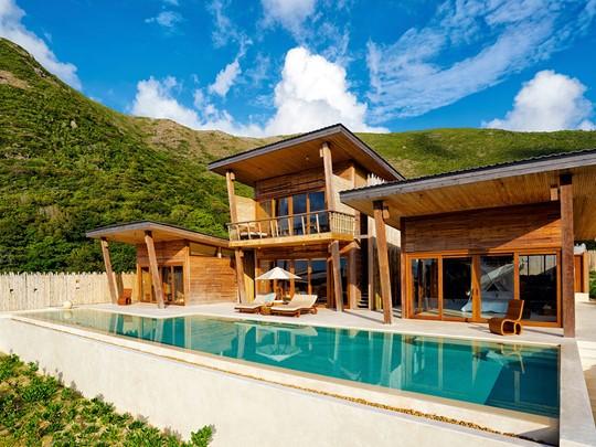 Vue extérieure de l'Ocean View 4 Bedroom Villa