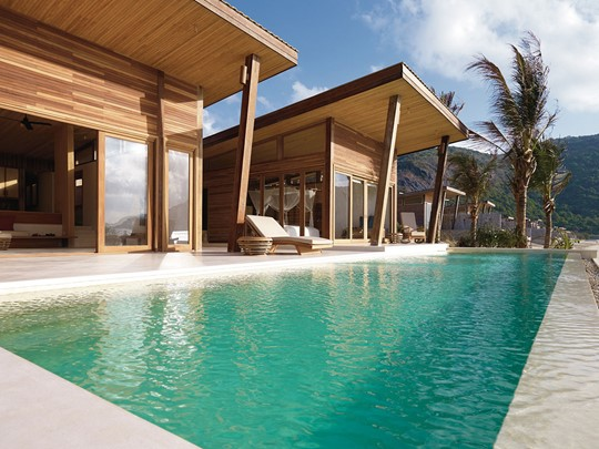 La piscine de l'Ocean Front 2 Bedroom Villa