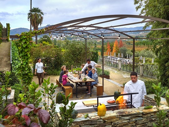 Barbecue au Six Senses Douro Valley au Portugal