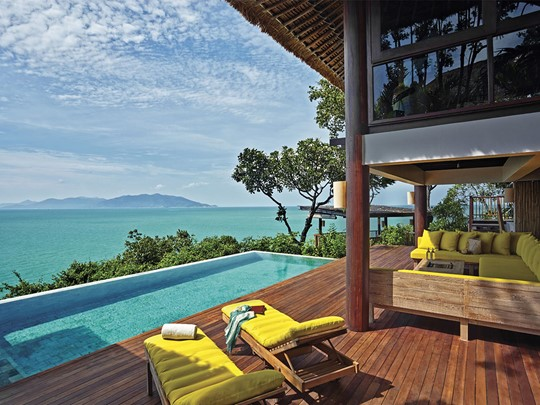 The Retreat de l'hôtel Six Senses à Koh Samui