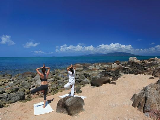 Yoga au Six Senses à Koh Samui