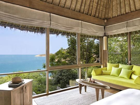 Ocean Pool Villa de l'hôtel Six Senses à Koh Samui