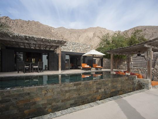 La piscine de la Pool Villa Suite