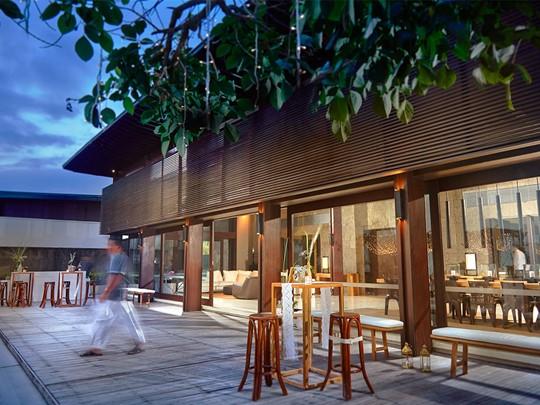 Autre vue du restaurant Soori Estate du Soori Bali