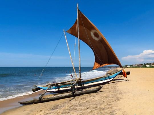 Plage de Negombo