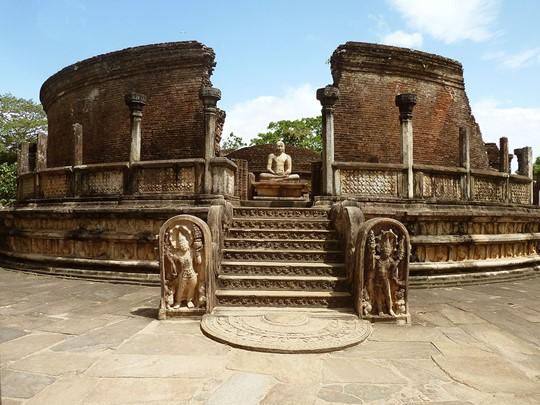 Le site de Polonnaruwa au Sri Lanka
