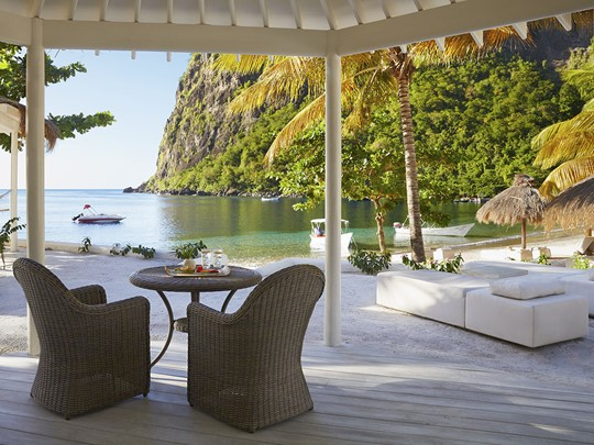 Luxury Beachfront Bungalow