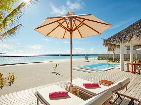 La piscine de la King Beach Suite