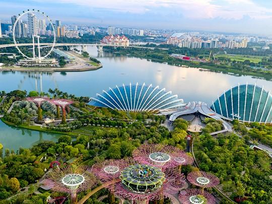 Votre voyage commence par Singapour, la cité-Etat futuriste