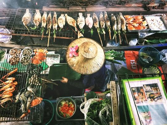 Découvrez la street-food thaïe