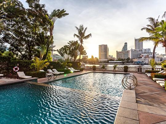 The Peninsula Bangkok, sur les rives du fleuve Chao Phraya