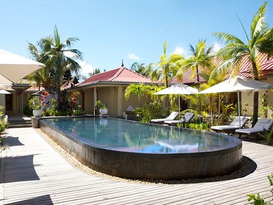 La piscine du LUX* Me Spa