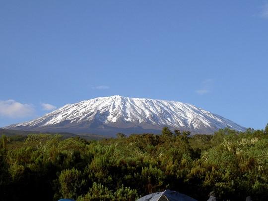 Vue du Kilimandjaro
