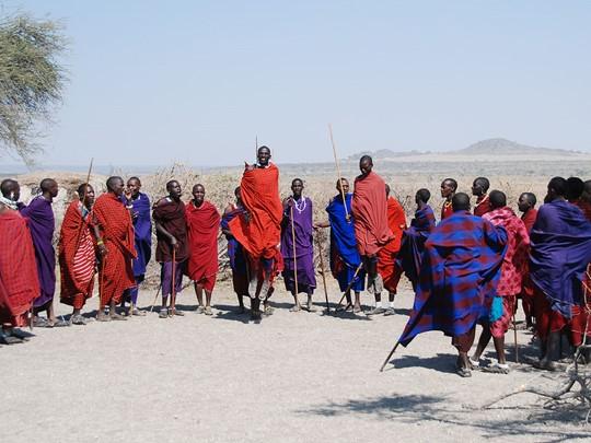 Rencontrez les Masaïs
