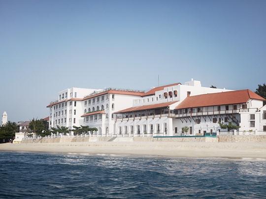 La plage du Park Hyatt Zanzibar