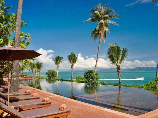 Hôtel Saree Samui, piscine