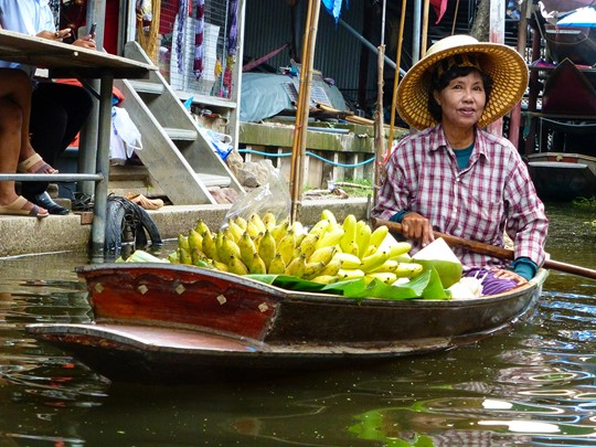 Ma Klongs, célèbres canaux de Bangkok