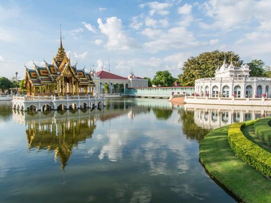 Le palais d'été d'Ayutthaya