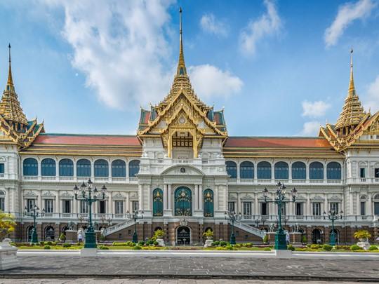 Visite du Grand Palais de Bangkok