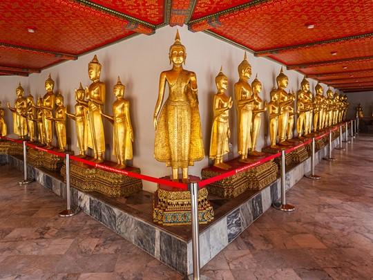 Visite du temple Wat Pho situé à Bangkok