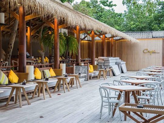 Restaurant Capri de l'hôtel Beach Club by Haadtien en Thailande