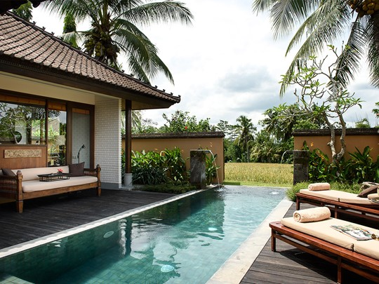 Piscine de la One Bedroom Pool Villa